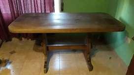 Mesa de agarrobo 1.60 x 80
