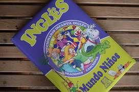 Diccionario infantil de inglés. Editorial: Mundo niños