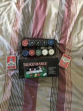 Equipo de fichas poker