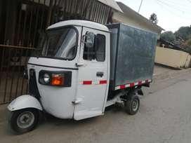 Moto Carro  Re205 con furgón