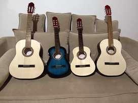 Guitarras criollas. Excelente calidad. Adulto y chicos