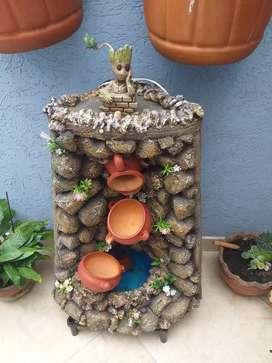 Vendo fuente para patio