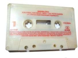 Cassette Brigada Cola Serie Argentina Retro Coleccion Tv Audio