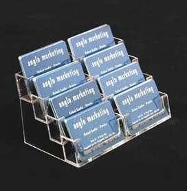 Porta tarjetas en Acrilico