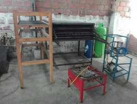Vendo montaje para fábrica de arepas