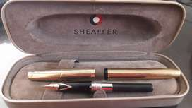 PLUMA SHEAFFER IMPERIAL DORADA