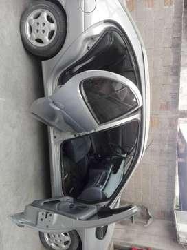 venta de auto renault megane modelo 2007 , 1.9 , tdi , con aire acondicionario , levanta crisatales a solo 300000
