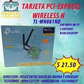 Tarjeta Wiffi PCI Express