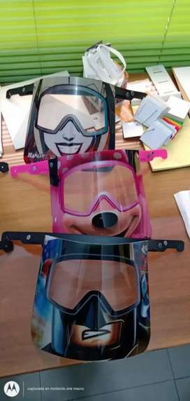 Mascaras protectoras para niños