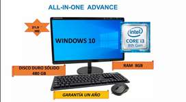 PC  ALL IN ONE CORE i3