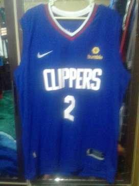 Camiseta Oficial de Basket NBA NFL.MLB NHL LA CLIPPERS 2020 BLUE
