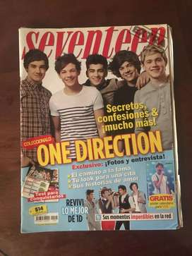 One direction revista Seventeen