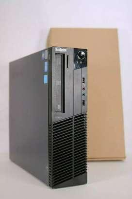 CPU torre para PC Lenovo ThinkCentre M Series procesador Intel Core i3 RAM 4gb disco 500 Windows 10