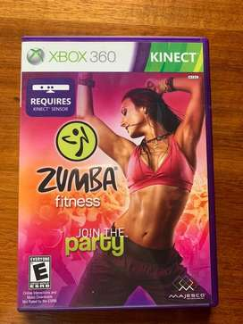 Juego Zumba Xbox