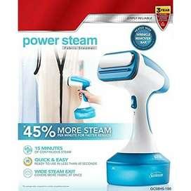 plancha vapor sunbeam steam nueva