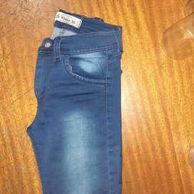 Jeans dama la rokka