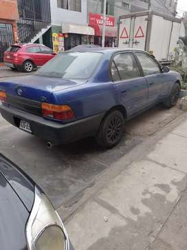 Toyota corola gnv 1993 mecánico  doc regla