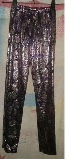 Calza/leggings S/estrenarse Metalizada