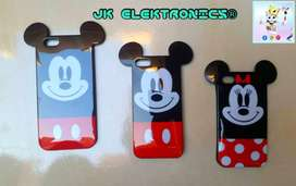 Funda iPhone 4,5,6 Disney World Mickey, Minnie Mouse Goma Rígida