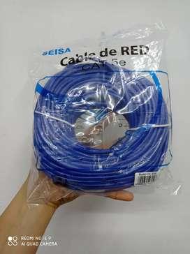 Cable UTP 30 metros cat 5e