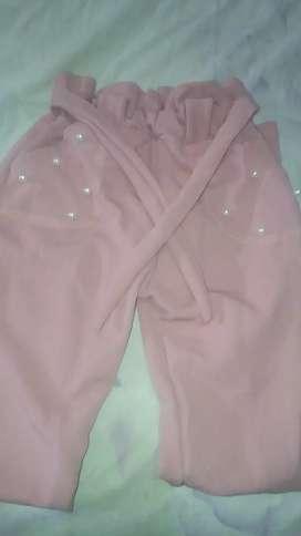 Pantalón de niña largo