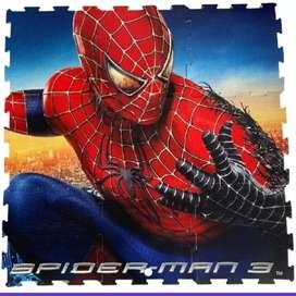 Tapete foamy hombre araña Edad:0 A 24 Meses Material:foamy Personaje: Spider Man. Piezas: 9