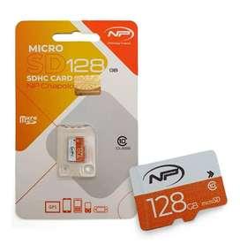 Memoria Micro Sd 128gb New Print Clase 10 Sello Original