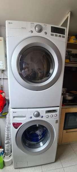 Venta Lavadora y secadora LG