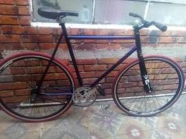 Bicicleta 2uno coaster freno contra pedal