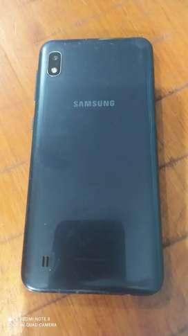 Permuto Samsung A10 por cel de mayor gama pongo efectivo arriba