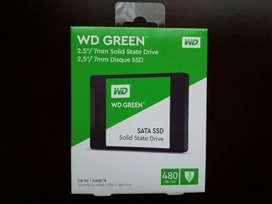 Disco Duro Solido 480GB Western Digital, Nuevo.