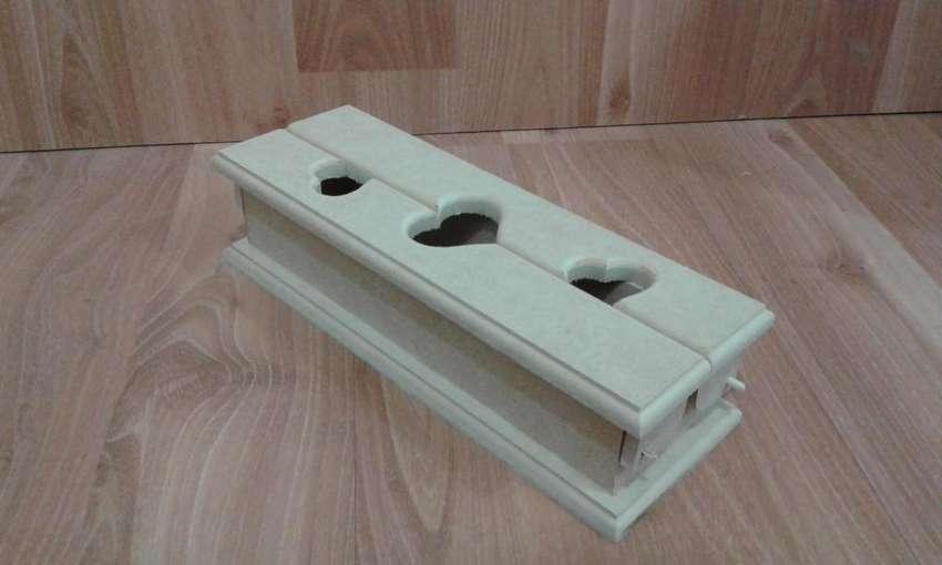 Caja calada arte country proyecto para pintar mdf madera decoracion cofre 0