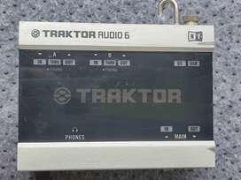 Vendo tarjeta audio Traktor audio 6