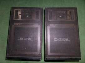 2 Parlantes ,Marca digital,Modelo MD 26 W,Sistema acustico