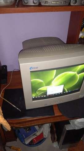 Monitor para Pc Antiguo Funcional