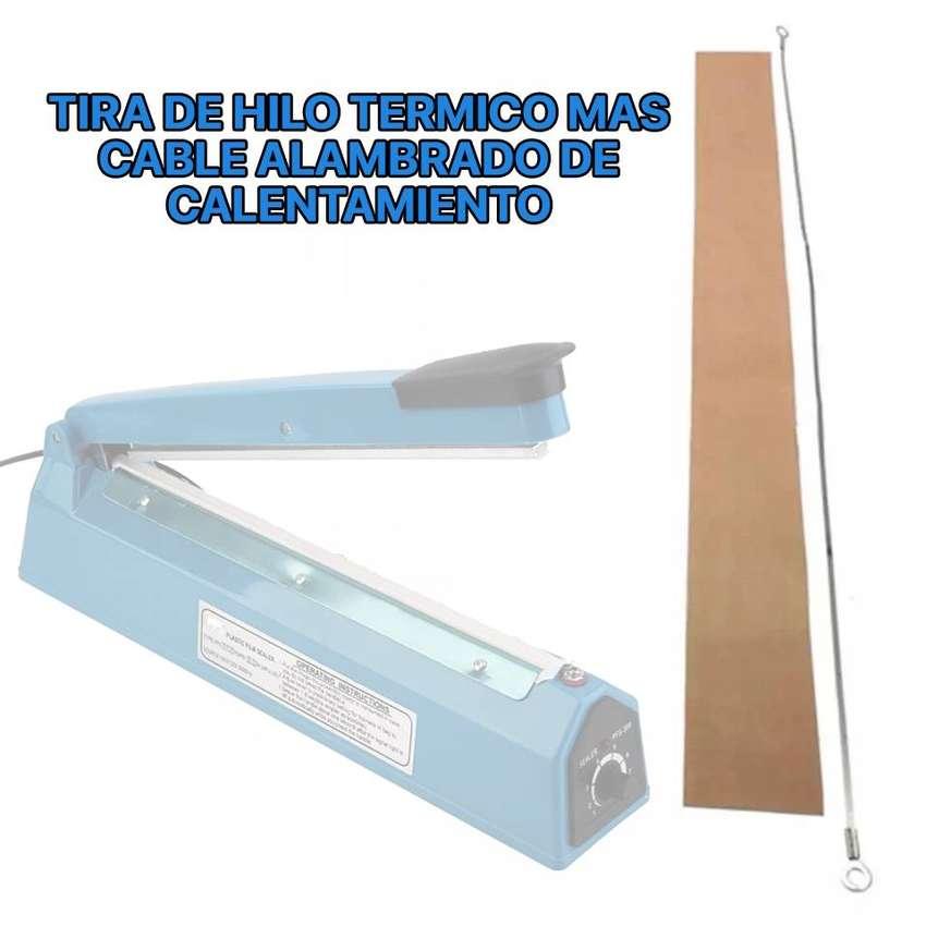 REPUESTO DE SELLADOR PLÁSTICO DE 30 CM Ó 300 M.M - HILO TÉRMICO MÁS CABLE DE CALENTAMIENTO. 0
