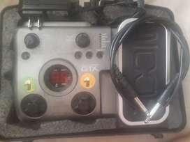 Pedal zoom g1x con case