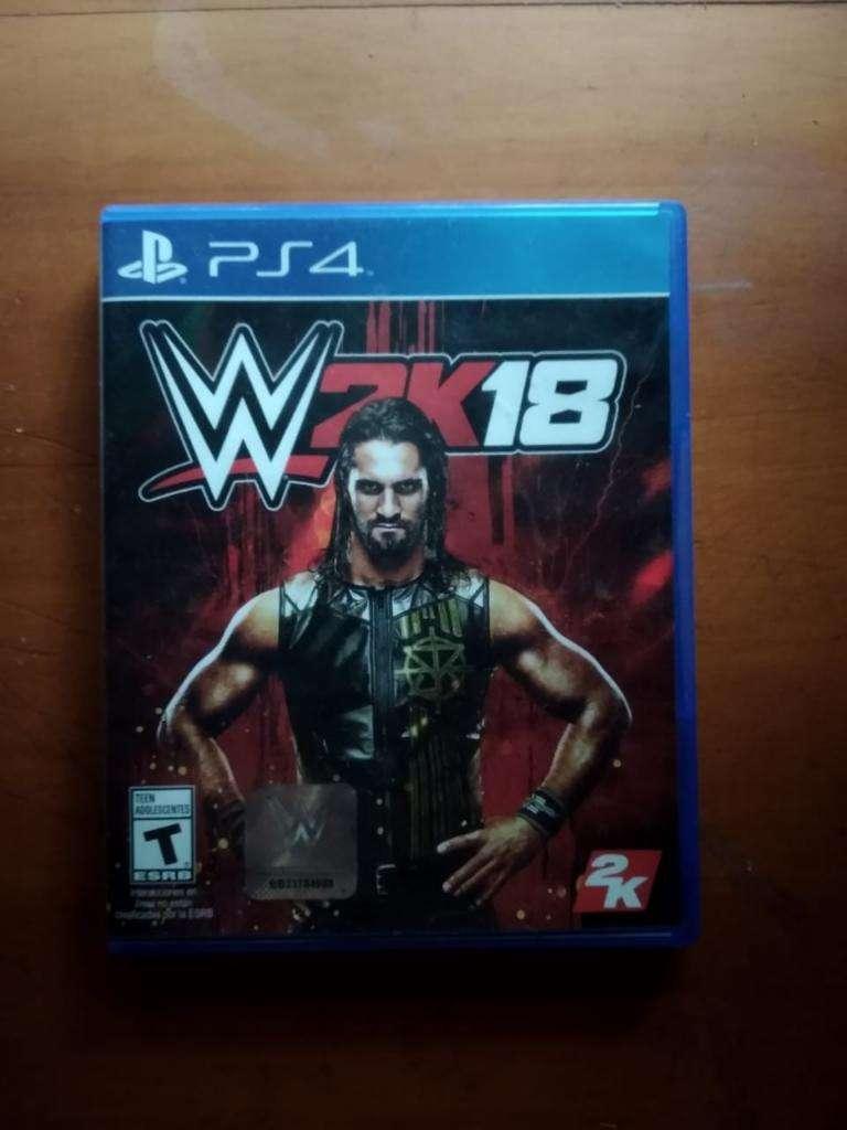 WWE2K18 PS4 0