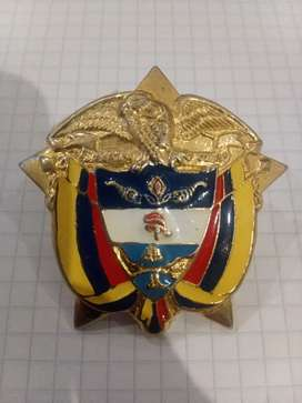 Escudo Colombia en bronce