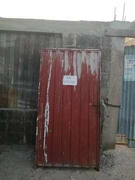 Puerta para patio