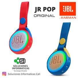 BOCINA - PARLANTES JBL  JR POP - SUMERGIBLES 100% - 12 MESES DE GARANTIA