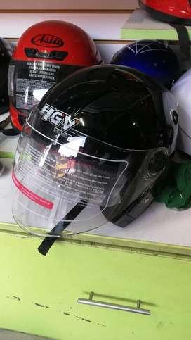 Casco para Moto Chopper Doble Visor Ofer
