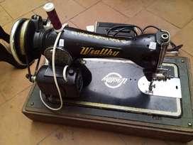 Máquina de coser de origen alemán Wealthy1200