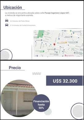 Casa de 2 Dormitorios Pasaje Ingeniero López 647 - Ciudad de Córdoba