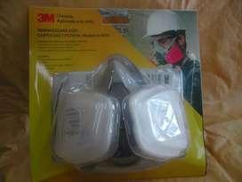 6311 Semimascara 3m 6200  CARTUCHO6001  5n11  501