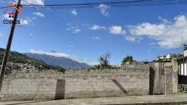 Venta de terreno en Otavalo