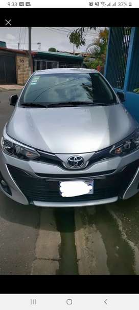 Se vende toyota yaris advance version g 2018 negociable