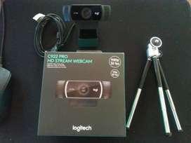 Logitech C922 Webcam impecable!