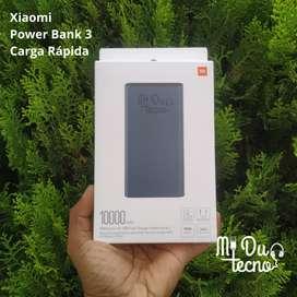 Xiaomi Power Bank 10000 mAh - Carga Rápida