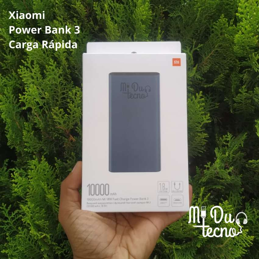 Xiaomi Power Bank 10000 mAh - Carga Rápida